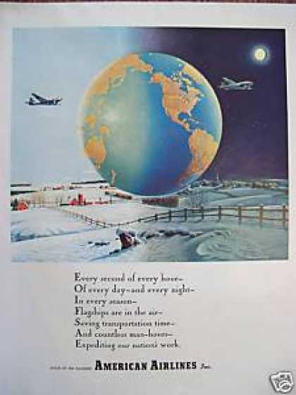 American Airlines Snowy Country (1944)