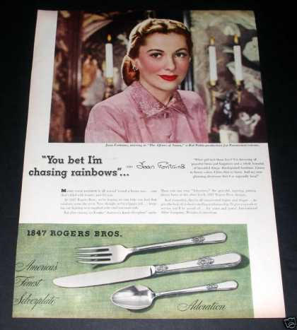 1847 Rogers Silver, Joan Fontaine (1945)