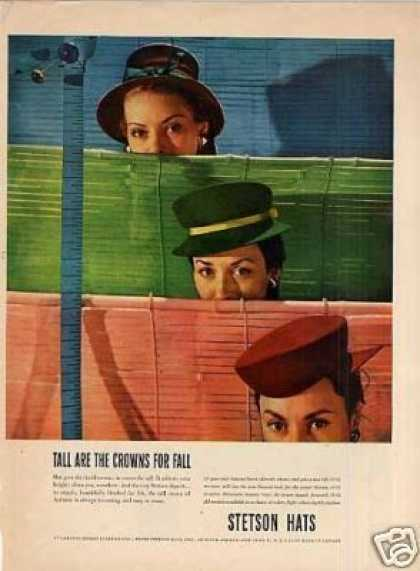Stetson Ladies Hats (1945)
