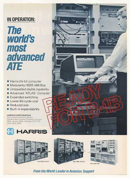 Harris 24-Bit ATE Computer System (1983)