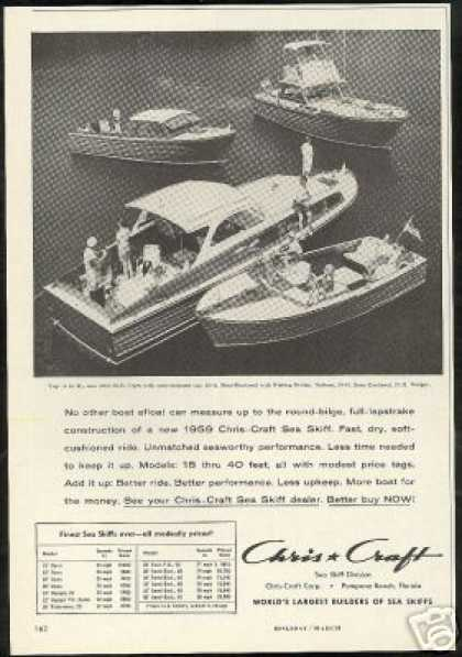 Chris Craft Sea Skiff 4 Boat Photo (1959)