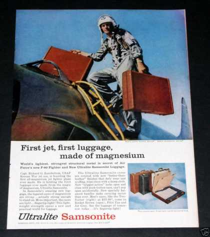 Samsonite, Jet Pilot, Briefcase (1956)