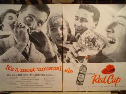 Red Cap Ale Most Unusual Ale 2 pg (1957)