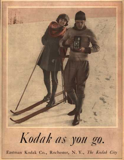 Kodak – Kodak as you go (1921)
