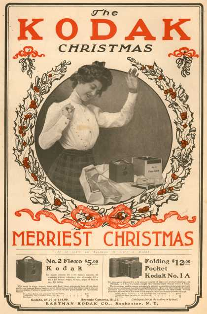 Kodak &#8211; The Kodak Christmas Merriest Christmas (1900)