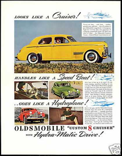 Oldsmobile Custom 8 Cruiser Photo Vintage Car (1940)