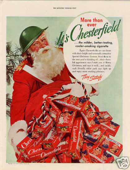 Chesterfield Cigarettes (1942)