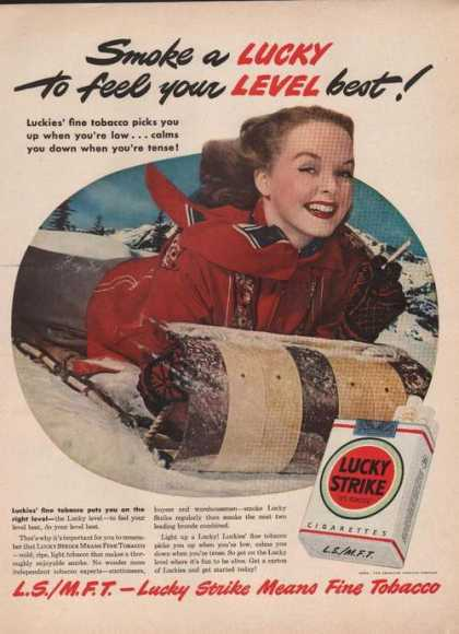 Lucky Strike Cigarettel (1949)