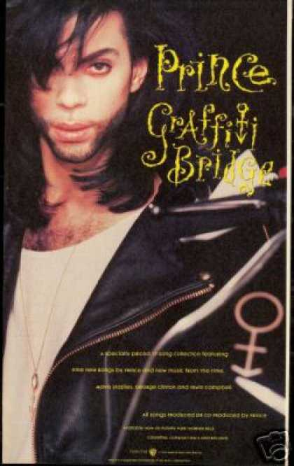 Prince Photo Graffiti Bridge Vintage Record (1990)