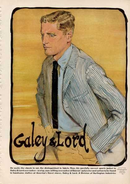 Galey & Lord Fashion Sports Jacket Shirt (1964)