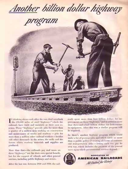 Association of American Railroads – United for Victory (1945)