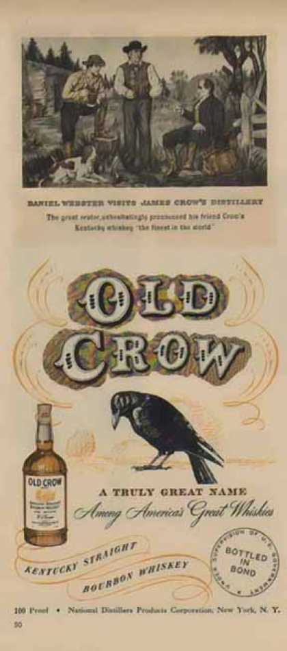 Old Crow – Daniel Webster Visits James Crow's Distillery (1949)