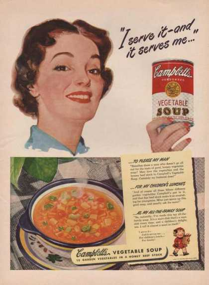 Campbells Vegetable Soup (1949)