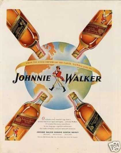 Johnnie Walker Scotch Whisky (1947)