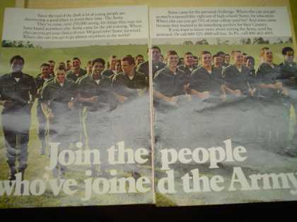 US Army. Join the people who've joined the army (1974)