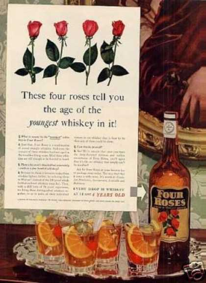 Four Roses Whiskey (1939)