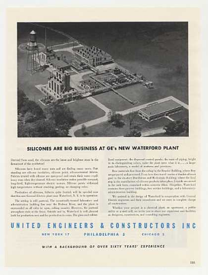 GE Waterford NY Plant United Engineers Photo (1949)