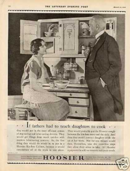 Hoosier Kitchen Cabinet (1928)