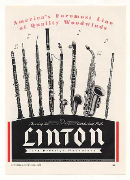 Linton Woodwinds Woodwind Instruments (1957)