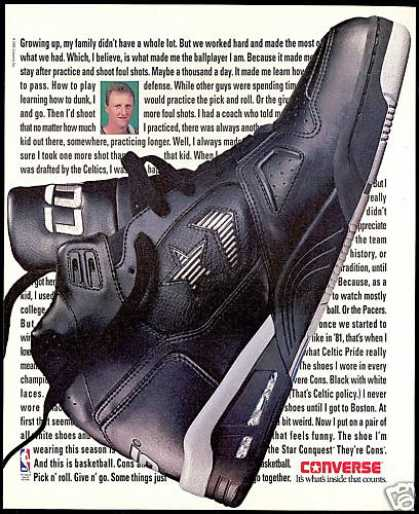 Larry Bird Celtics Basketball Converse Shoe (1991)