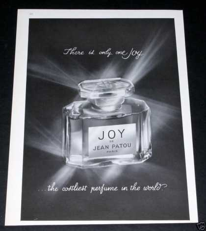 Old , Joy, Jean Patou, Perfume (1964)