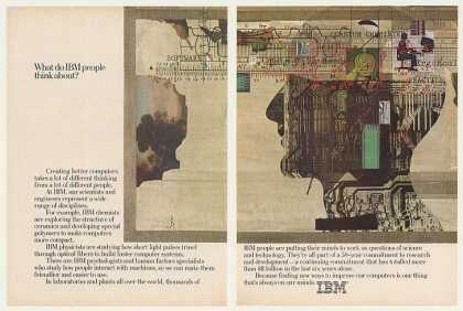 What Do IBM Computer People Think About (1983)