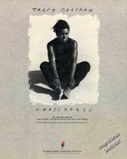 Tracy Chapman Photo Crossroads Album Promo (1989)