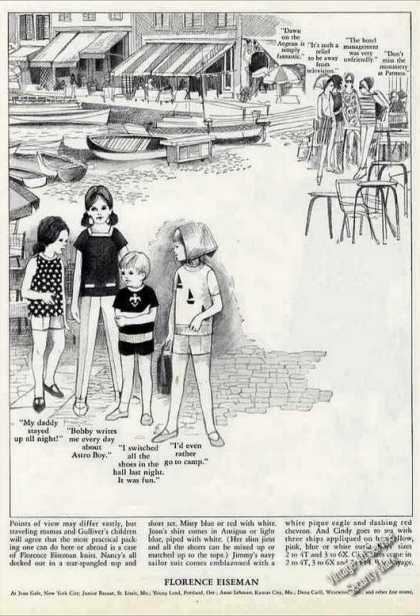 Nice Fashion Drawings Florence Eiseman (1964)