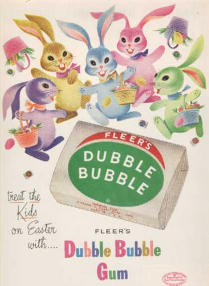 Fleer&#8217;s Double Bubble Gum (1953)