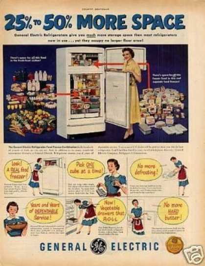General Electric Refrigerator (1951)
