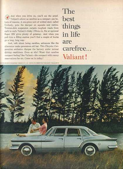 Chrysler's Plymouth Valiant/ Duster/ Barracuda (1961)
