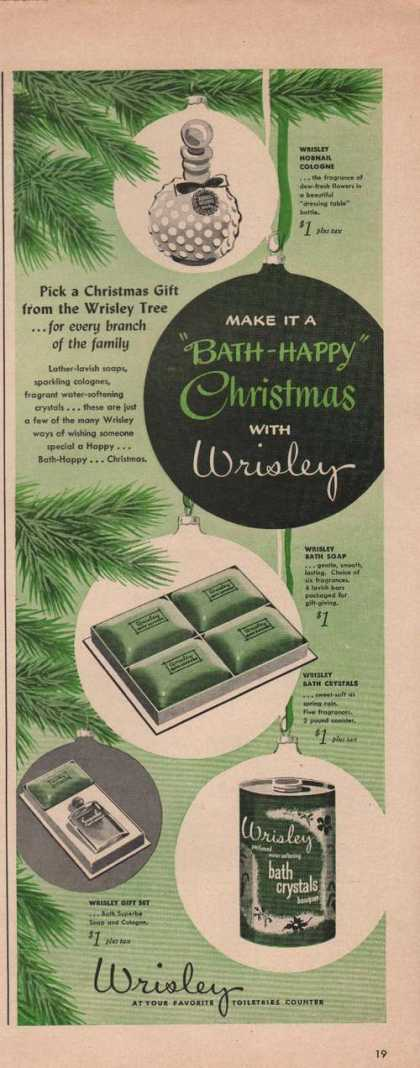 Wrisley Womens Toiletries (1949)