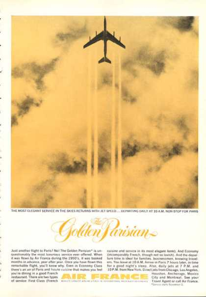 Air France Golden Parisian Jet (1962)