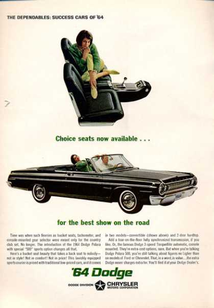 Dodge Polara 500 Convertible (1964)