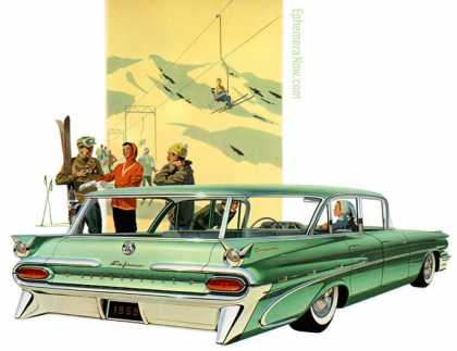 Pontiac Bonneville Custom Safari (1959)