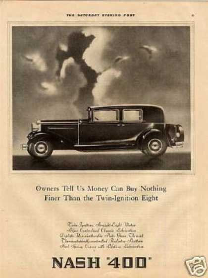 "Nash ""400"" Car Ad ""Owners Tell Us... (1930)"