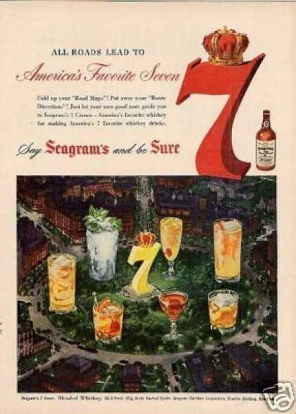 Seagram's 7 Whiskey (1950)