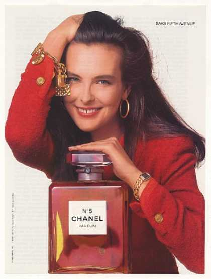 Chanel No 5 Perfume Classic Bottle Photo (1988)