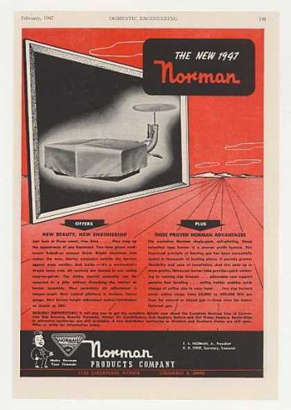 Norman Gas Burner (1947)