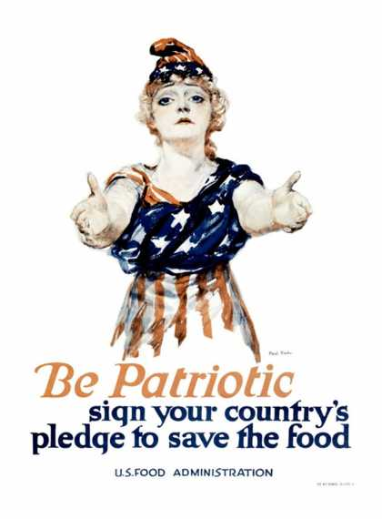 Be Patriotic, U.S. Food Administration