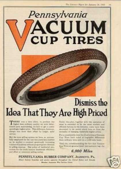 Pennsylvania Vacuum Cup Tires Color (1918)