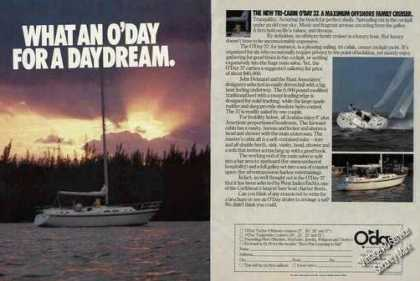 O'day Tri-cabin 37 Offshore Family Cruiser (1978)