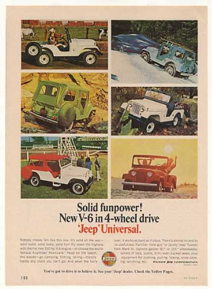 Jeep Universal V-6 4-Wheel Drive 6 Photo (1966)