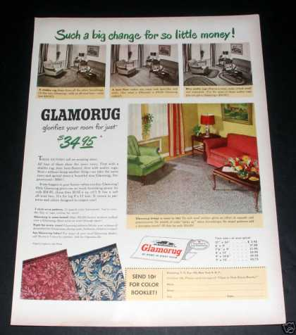 "Glamorug ""At Home In Every Room"" Ex (1949)"