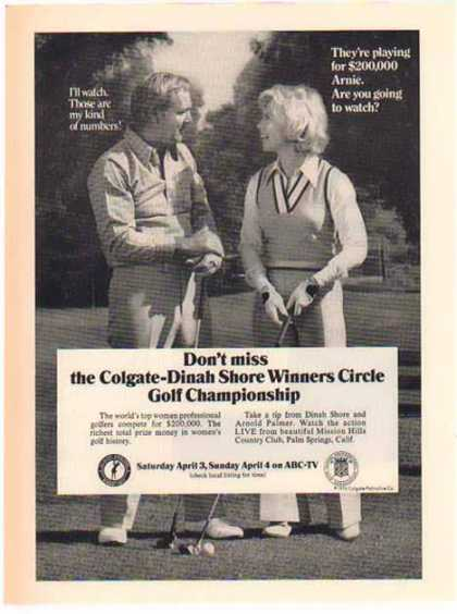 Colgate Golf Championship – Sold (1976)