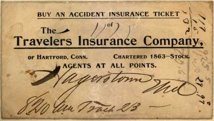Travelers Insurance Co.'s Insurance (Accident) – Buy An Accident Insurance Ticket