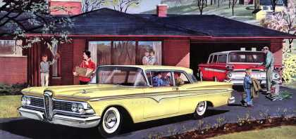 Edsel Ranger and Villager (1959)