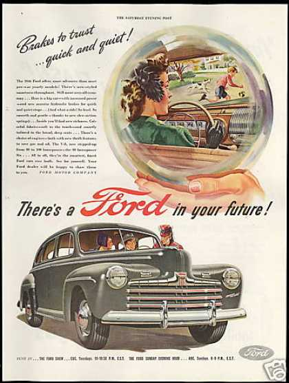 Ford Car In Your Future Vintage (1946)
