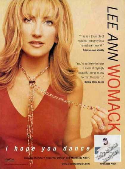 "Lee Ann Womack ""I Hope You Dance"" Album (2001)"