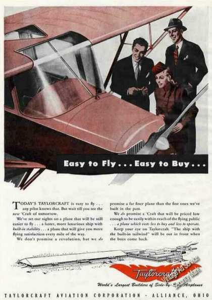 "Taylorcraft ""Easy To Fly...easy To Buy"" (1945)"